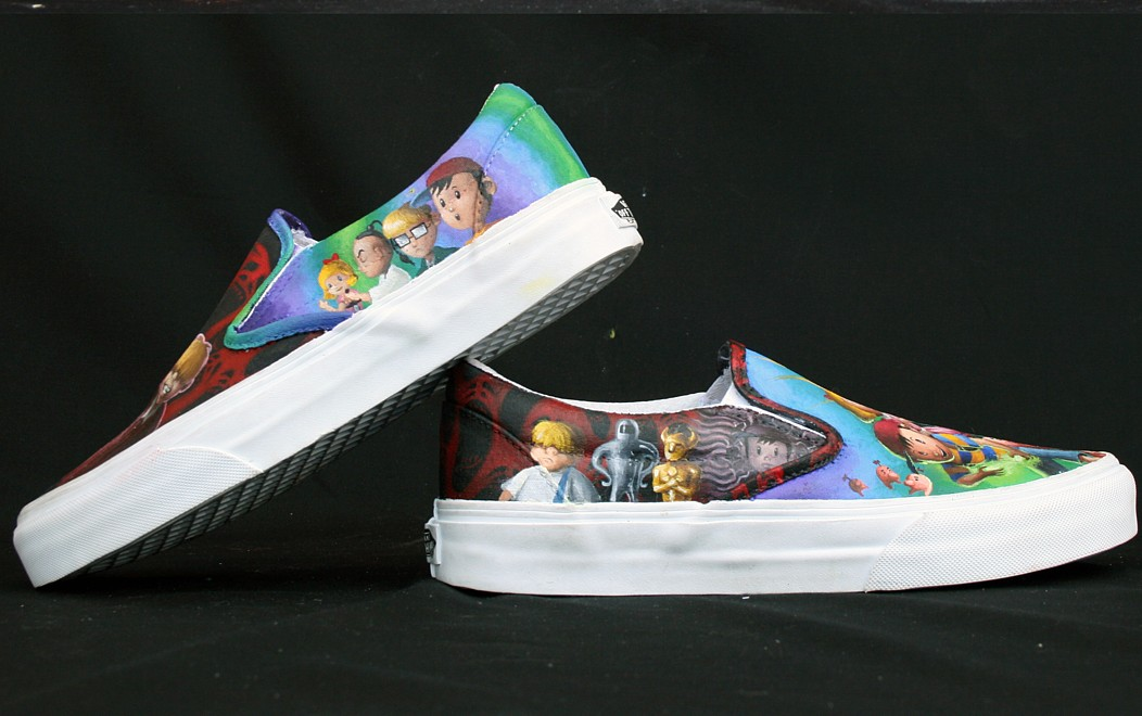 226b10a2b004 Vote for EarthBound Shoes in the Fresh 23 Vans Shoe Contest! « The Newsroom  « Forum « Fangamer