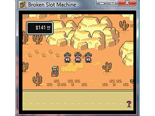 broken machine earthbound