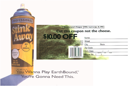 Scented Ads and Coupons