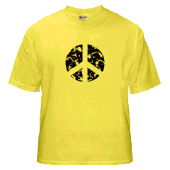 Caution Hippies! - Shirt V.2 Yellow Edition