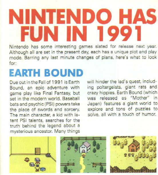 Mother 1 English ROM http://www.simout.com/earthbound-zero-english-rom