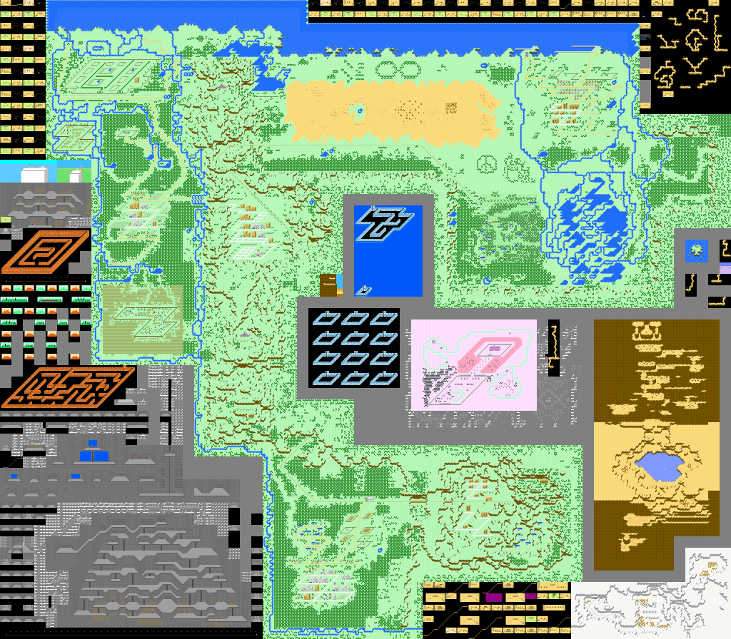 Might And Magic X World Map.Starmen Net Mother Earthbound Zero Faqs Guides Maps Etc