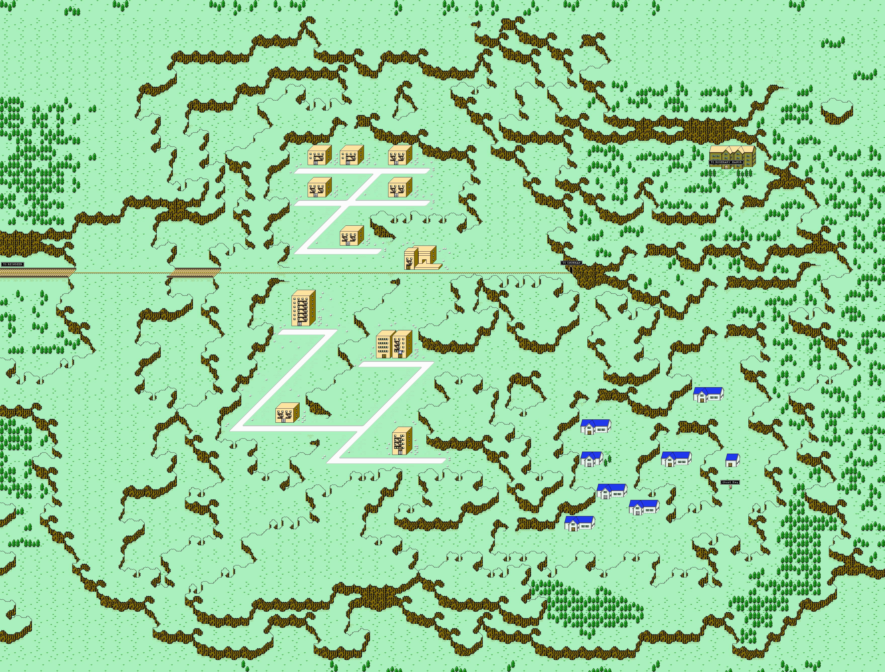 Maps 0.Starmen Net Mother Earthbound Zero Faqs Guides Maps Etc
