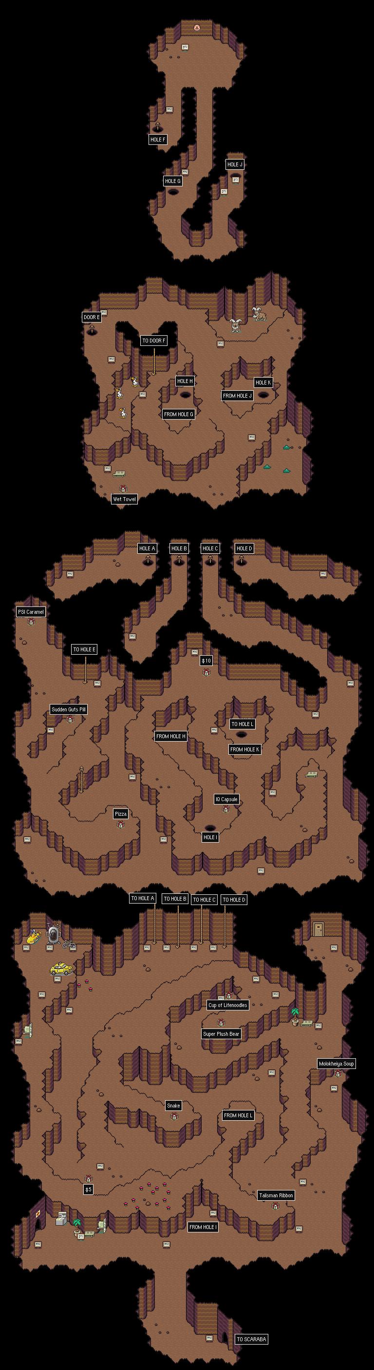 STARMEN NET - MOTHER 2 / EarthBound Maps