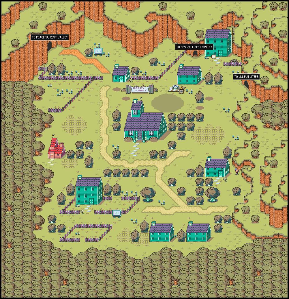 STARMEN.NET - MOTHER 2 / EarthBound Maps on