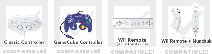 Four kinds of control!