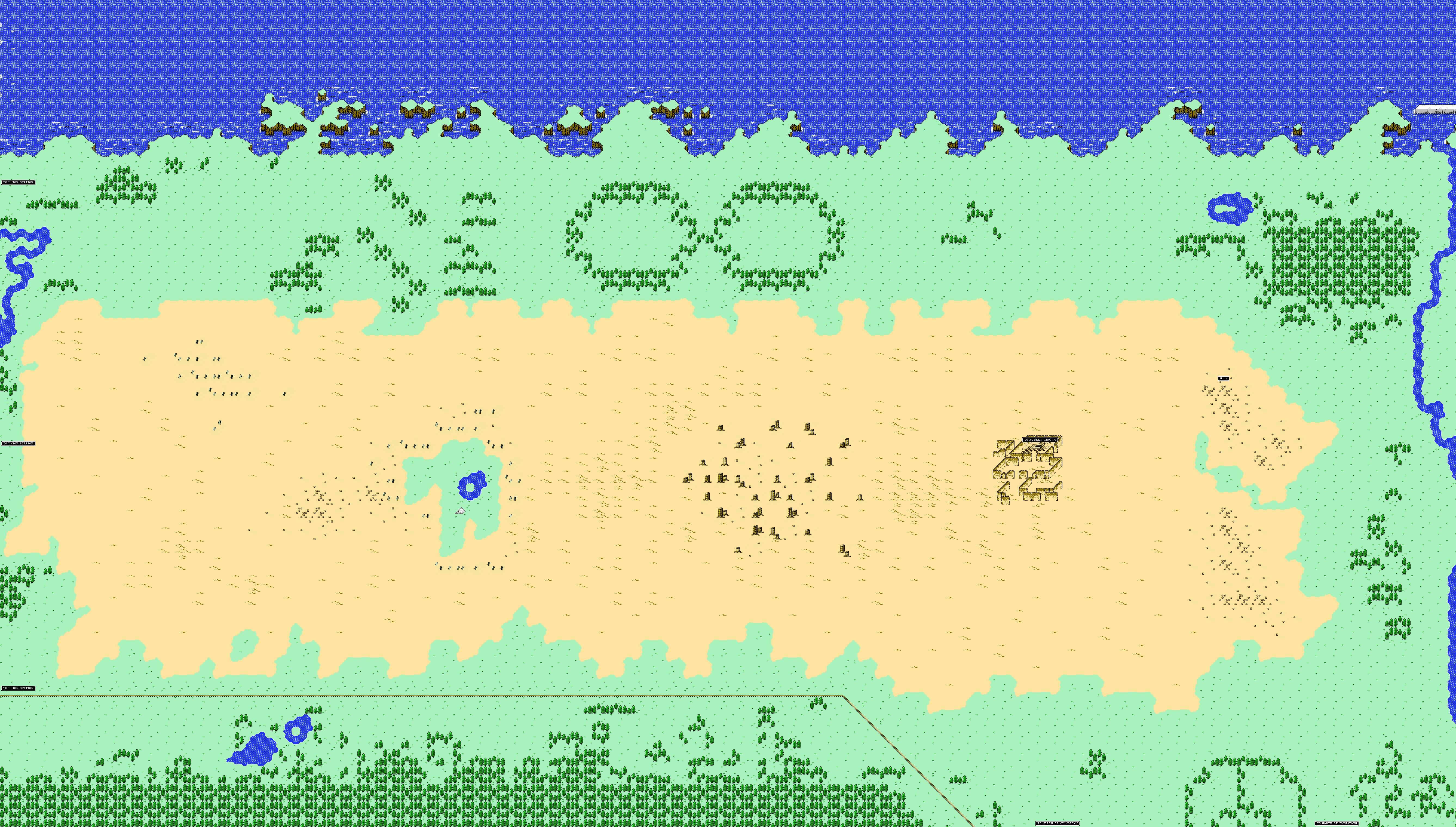 starmen net   earthbound zero faqs  guides  maps