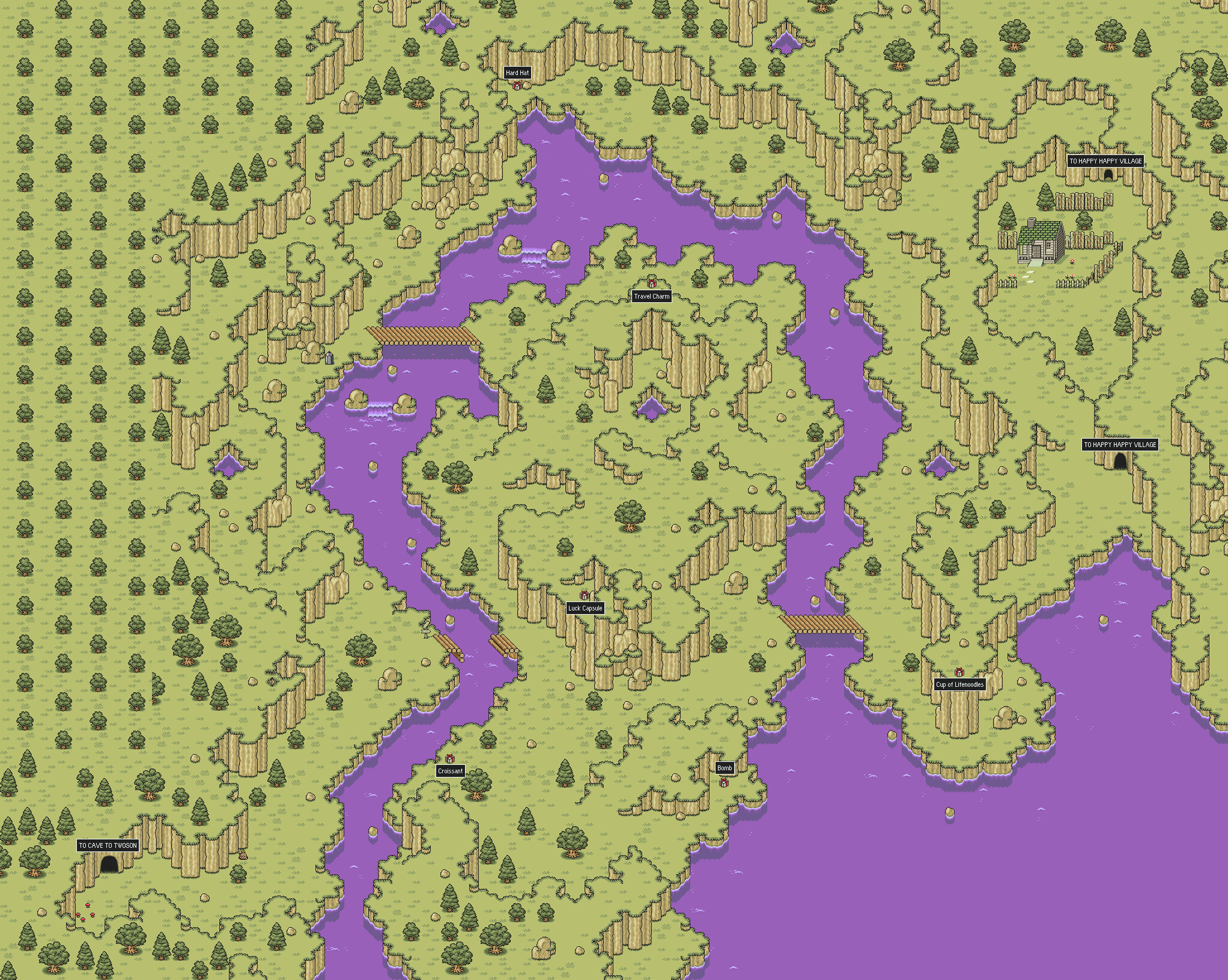 starmennet mother 2 earthbound maps